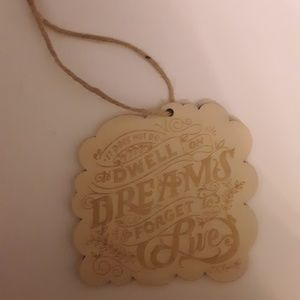 FairyLoot Wooden Ornament